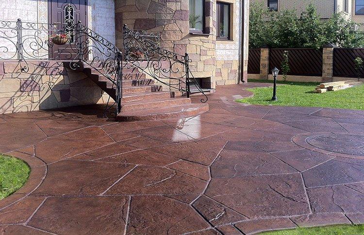 купить декоративные покрытия из бетона