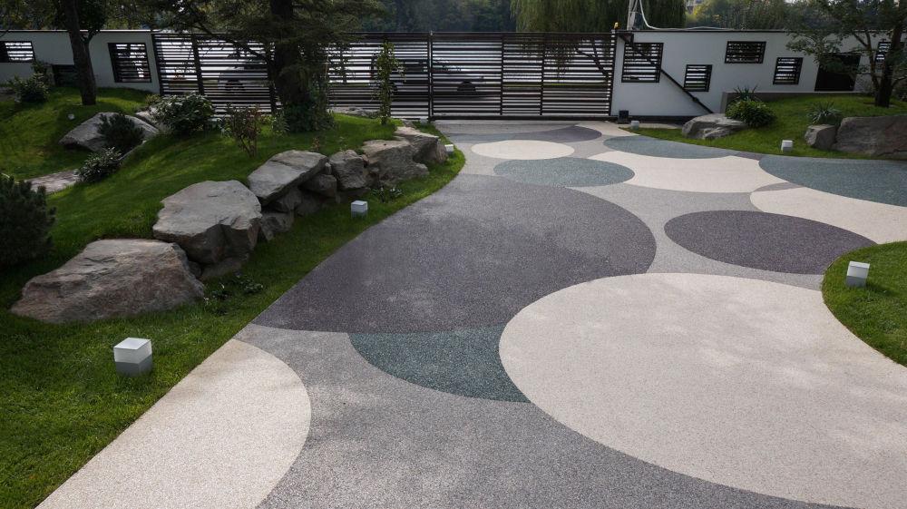 дорожки из архитектурного бетона