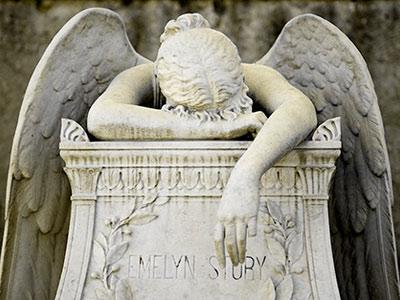 изготовление надгробий статуя