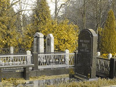 изготовление надгробий стела